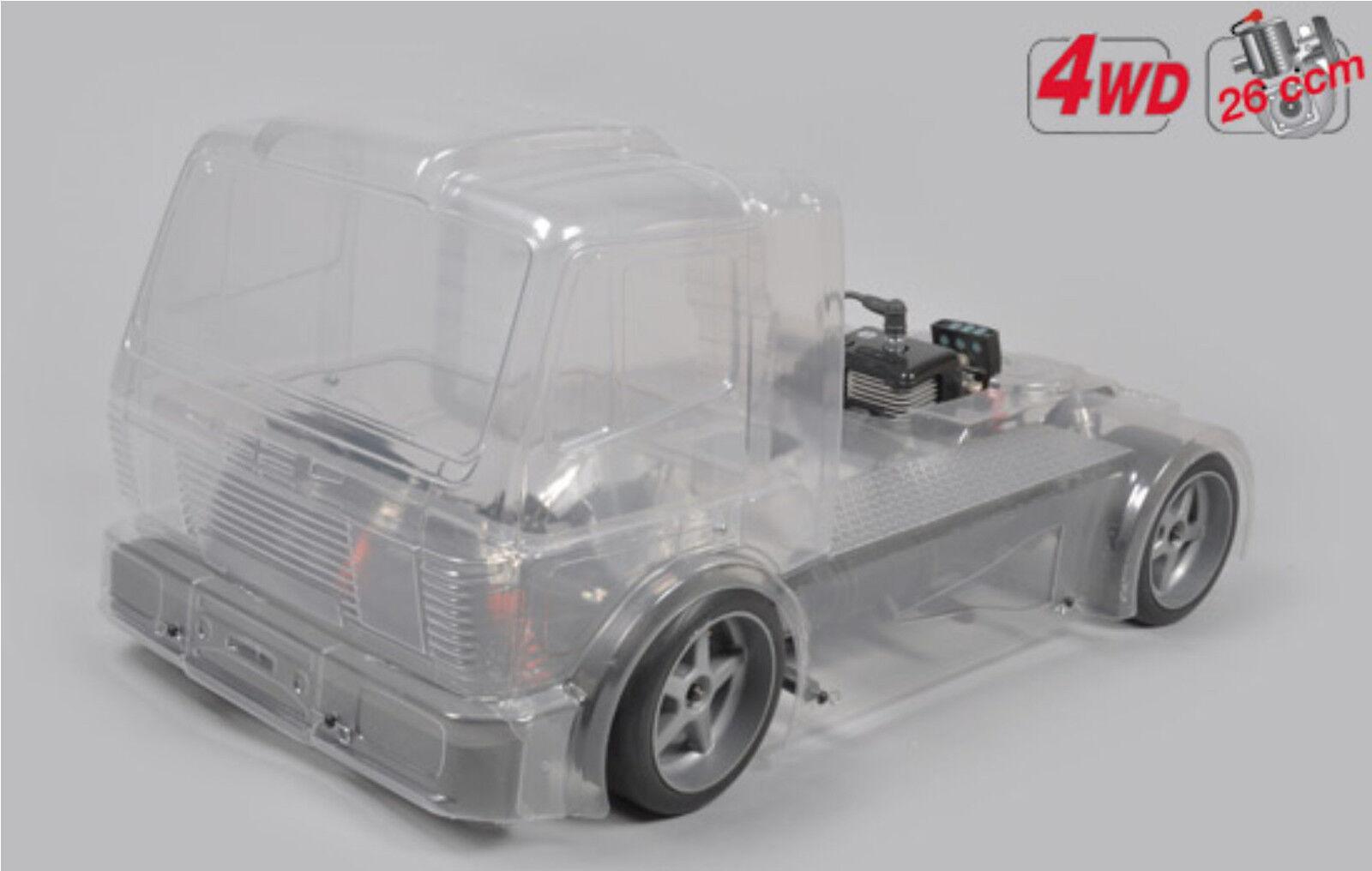 FG modelo Sport Street Truck 530 4wd sin pintar 26ccm sin control remoto