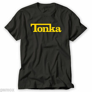 TONKA INSPIRED STYLE LOGO GRAPHIC HIGH QUALITY 100/% COTTON FULL COLOUR T-SHIRT