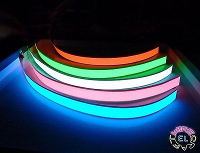2cm x 1metre  EL Tape Double Ended Electroluminescent Foil  in 7 Colours