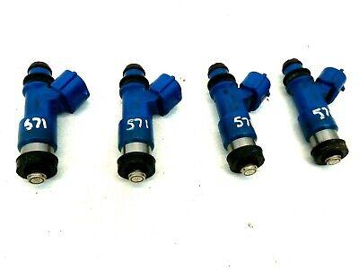 Set Of 4 Fuel Injectors16611-AA720 For 06-14 Subaru Forester Impreza WRX STI