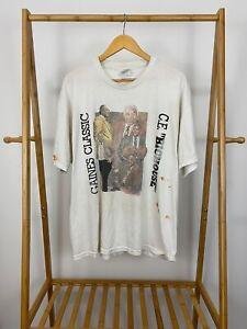 VTG-Gaines-Classic-C-E-Bighouse-Benedict-College-Ferris-State-T-Shirt-Size-XL