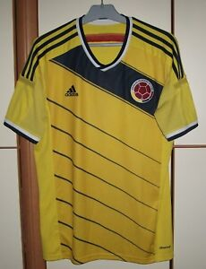 COLOMBIA-NATIONAL-TEAM-2014-2015-HOME-FOOTBALL-SHIRT-JERSEY-ADIDAS