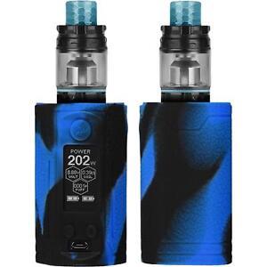 Fur-Wismec-Reuleaux-RX-GEN3-Dual-230W-Schutz-Hulle-Cover-Case-schwarz-blau