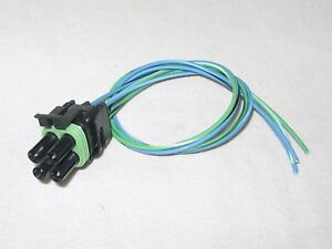 Connector of Idle Air Control Valve AC124 Fits Chevrolet GMC Oldsmobile Pontiac