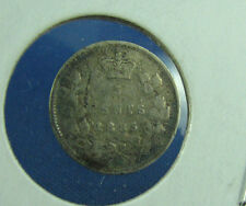 Canada 1885 5 cents very nice coin about F mark
