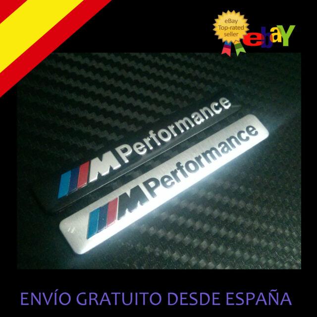 EMBLEMA LOGO INSIGNIA ALUMINIO BMW M ///M PERFORMANCE e30,e36,e46,e90,e92,