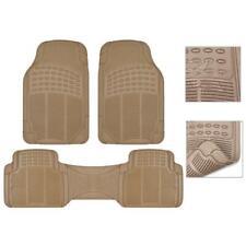 3 Piece Heavy Duty Floor Mats For Car Auto Full Set Economy Vehicle Carpet Mats Fits 2012 Toyota Corolla