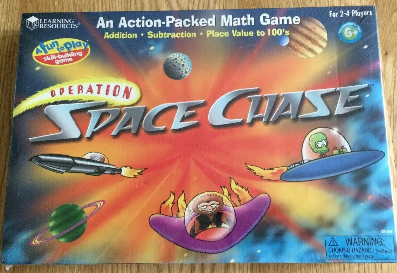 New & Sealed Sealed Sealed Learning Resources Operation Space Chase Board Game b59ac1