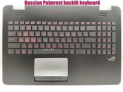 New Asus Rog G551 G551J G551JK G551JM Upper Palmrest Case W Backlit Keyboard USA
