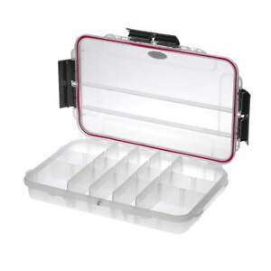 MAX003T Medium Waterproof Gear Fishing Tackle Tool IP67 Hard Case Dry Box Clear