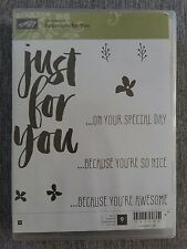 Neu! Stampin Up Stempelset BOTANICALS FOR YOU !!!