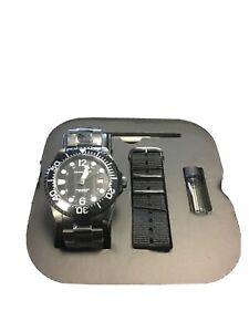 Armand Basi Rocket Automatic Watch Seiko Movement Diver W Bracelet Mens Watch Ebay