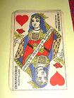 ANCIENNE carte parfumée parfum de la dame de coeur CH.MONTERNIER
