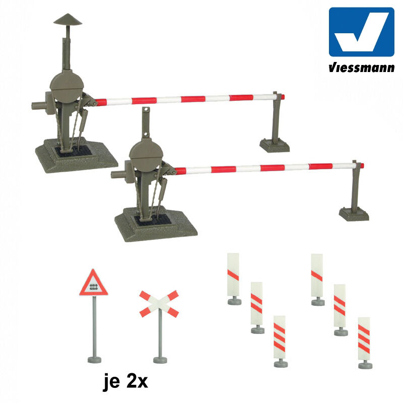 Viessmann 5100 H0 Bahnschranke, vollautomatisch  NEU & OVP OVP OVP  | Schnelle Lieferung  bcc75d