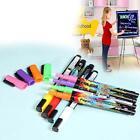8 x Neon Popart Liquid Chalk Marker Pens Board Glass Sign Chalkboard Window SZ