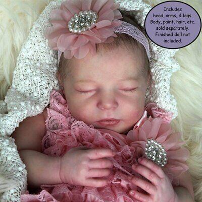 "23/"" Reborn Doll Parts Kit Easton 6 Month Old DIY"