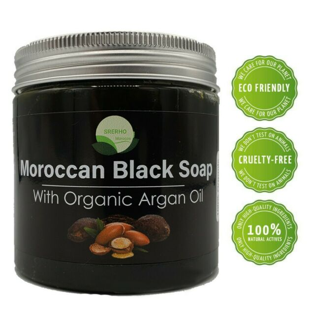 Natural Moroccan Black Soap With Argan Oil For Sale Online Ebay