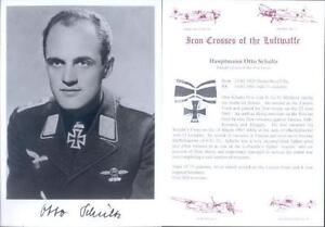 SPGL09-German-Luftwaffe-Battle-of-Britain-photo-signed-SCHULTZ-KC