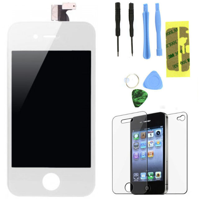 Replacement LCD Touch Screen Digitizer Glass Assembly for iPhone 4S White