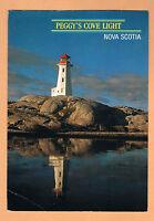 Peggy's Cove Lighthouse Nova Scotia NS Used Postcard