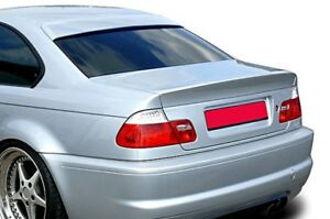 Bmw E46 Coupe M M3 2 Door Roof Extension Rear Window Cover Spoiler