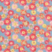Moda Fabric Nanette Chez Moi 1/2 Yard Bluebonnet 33161 13 100% Cotton