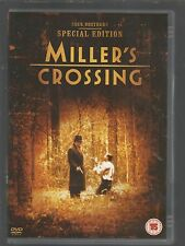 MILLER'S CROSSING - SPECIAL EDITION - Gabriel Byrne - UK R2 DVD - Coen Brothers