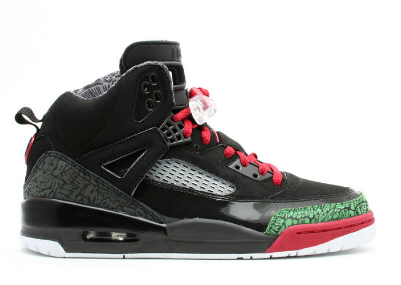 2007 Nike Air Jordan Spizike Black Red Green Size 10.5. 315371-061