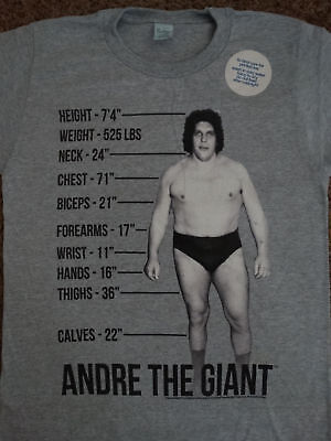 Andre The Giant Wrestling Licensed Adult T-shirt