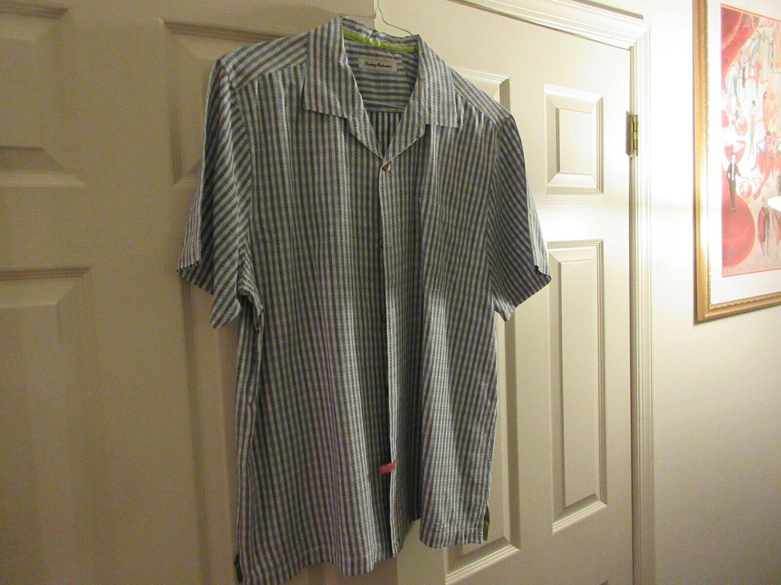 Tommy Bahama, Men's Short Sleeve , XL/TG , 65% Silk ,45