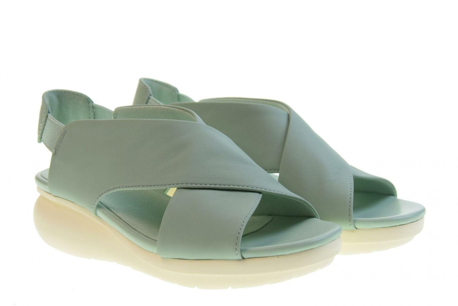 Camper P19u woman sandals wedges K200066-030 GREEN WATER