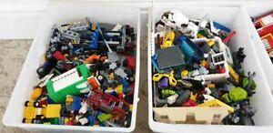 Genuine-LEGO-Bundle-1-kg-Mixed-briques-de-petites-pieces-pieces-Starter-Set-joblots-vrac
