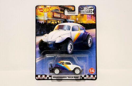 Hot Wheels Premium Boulevard Volkswagen Baja Bug #14 Metal Metal Real Riders