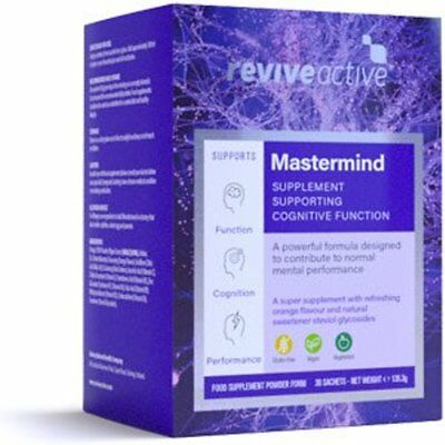 Revive Active Mastermind Supplement 30 Sachets Best Before 31/05/2019