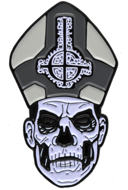 Trick or Treat Studios GHOST Band Papa II Enamel Pin NEW
