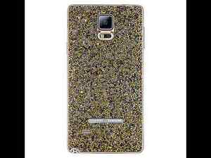 NEW-Swarovski-Crystal-Battery-Cover-Sunset-Gold-for-Samsung-Galaxy-Note-4-FS