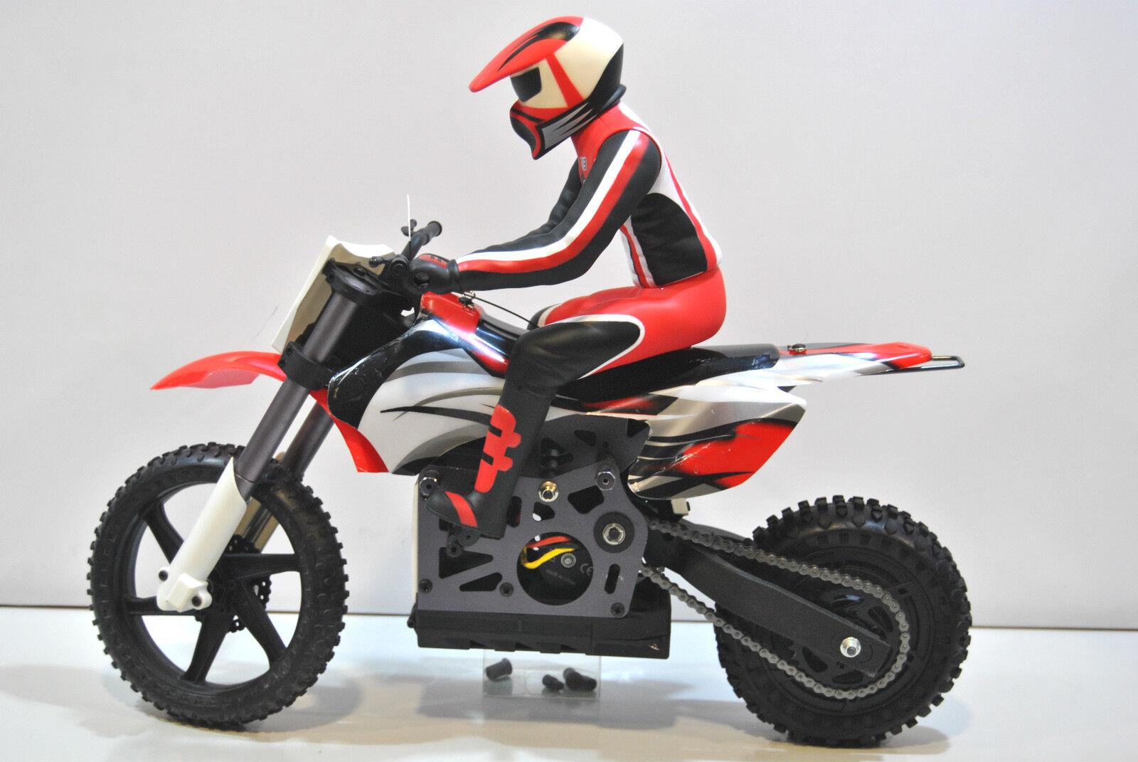 MX400BL-R Moto Elettrica MX400 HIMOTO BRUSHLESS BURSTOUT 1 4 MOTOCROSS HIMOTO 1