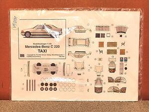 1/120 MERCEDES-BENZ C-220 PAPER CARD MODEL # TBS-620 | eBay