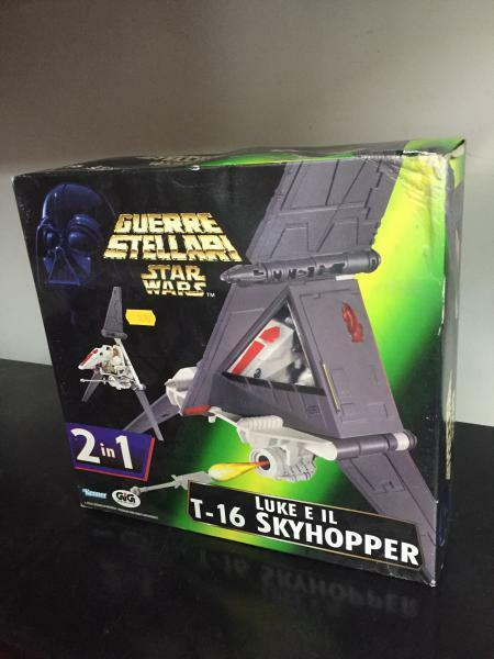Kenner Guerre Stellari Star Wars T-16 SKYHOPPER MIB, 1996