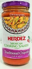 Herdez Mexican Cooking Sauce Traditional Chipotle 12 oz