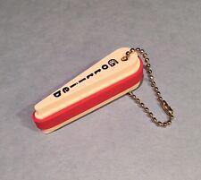 Gottlieb Pinball Plastic Flipper Keychain - Red