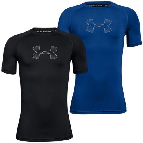 Under Armour HeatGear Armour Boys T-Shirt Kinder Short Sleeve Shirt 1289957