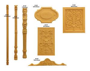 Verzierungen, Holz Ornamente, Schnitzereien aus MDF