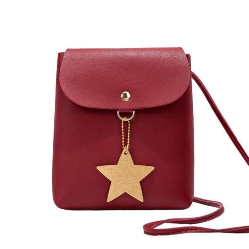 Women PU Leather Mini Shoulder Bag Handbag Messenger Crossbody Satchel Purse LH