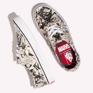 Vans Marvel Comics Multi Women Superhero shoes Authentic