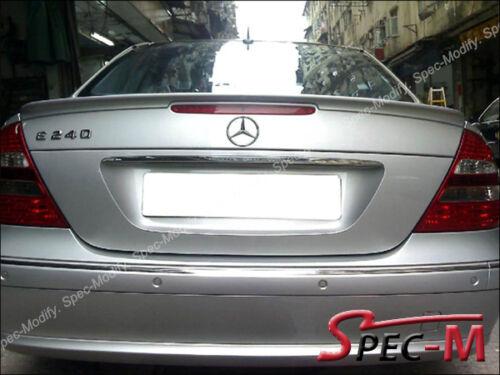Painted 775 Silver AMG Style Trunk Lip Spoiler For W211 E240 E320 E350 E500 E55