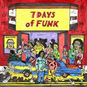 Details about 7 DAYS OF FUNK (SNOOP DOGG & DAM FUNK)-(8X7'' BOX +MP3) 7  VINYL LP SINGLE NEW+