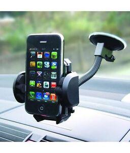 360 ° Soporte Universal Coche Parabrisas Tablero Montaje Para GPS PDA Teléfono Móvil UK