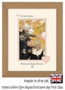 Maman Et Papa Cadre Photo Portrait 6x4 Maman Et Papa Est Tombé Amoureux 1024 F-afficher Le Titre D'origine Large SéLection;