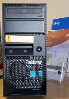 Lenovo Thinkserver Ts140 70a4000hux Tower Server I3-4130 8gb Ecc 1tb Hard Drive